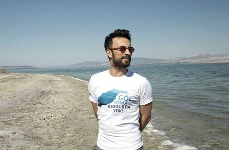 Tarkan'dan Burdur Gölü için çağrı