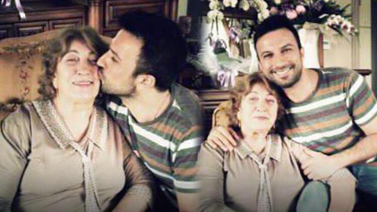 Tarkan'dan annesine öpücük