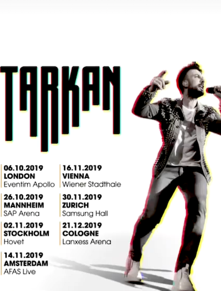 Megaturne! İşte Tarkan'ın konser takvimi….